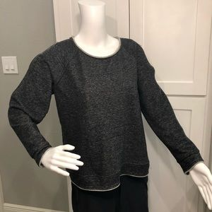Rick & Republic sweatshirt with zippers on arms L